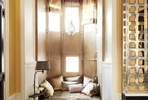 Living spaces: Nooks and crannys / Lovely ideas for all the little nooks and crannys in the home