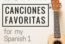 Canciones para apoyar el aprendizaje del español