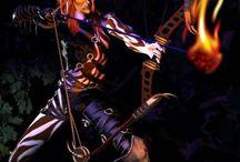 Gelu / Tablica poświęcona postaci z gry Heroes of Might and Magic III