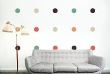 Modern Wall Stickers / Simple and modern Wall Stickers to decorate your home. You can make any shape you like.