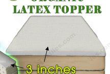 Organic mattress toppers   Cotton mattress topper @ Well Living Shop