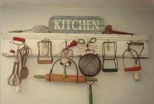 Rusztikus konyha kiegészítők