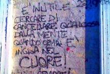 scritte sui muri / foto