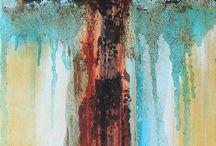 cross paintings