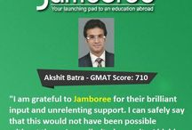 Jamboree Reviews / Jamboree India is the most experienced institute in India offering comprehensive preparation programs for tests like GMAT®, GRE®, SAT®, TOEFL® and IELTS.