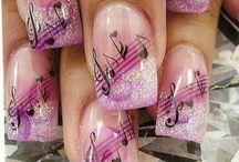 Nails music / Musicalità!