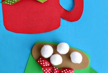 Santa breakfast craft ideas  / Would love any input. Feel free to add ideas too!  / by holly anne king