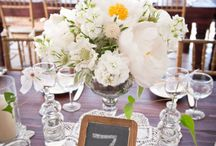 Creative Table Numbers / by Tupper Manor