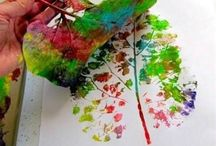 Leaf craft / Everything crafty with leaves  / by Karuski's little shop of colours