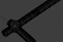 Sci fi Corridor Interior 3D Model