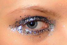paillettes yeux