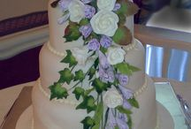 Wedding Cake, Floral Cascade