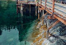 Aquarellen / Landscapes