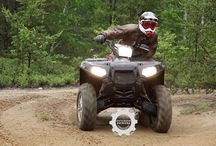 The lineup of ATVs and ATV Polaris Polaris Ranger / Модельный ряд квадроциклов Polaris и мотовездеходов Polaris Ranger