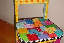Chaises / Chaises decorées