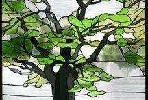 vidrio y mosaico