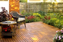 Decking, patios and porches