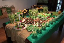 My grandson's party- Plants vs Zombies