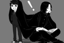 HP Harry Potter & Severus Snape
