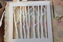 Canvas cut outs