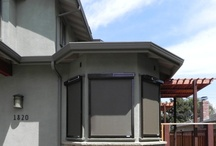 Solar Screens / Solar screens that are manufactured with Phifer Suntex material, shield windows from the sun's excessive heat and glare. By blocking up to 90% of the sun's heat and visible light from reaching the window, solar screens can lower cooling costs, save money, and help maximize the life of double pane windows via the solar protection they provide.