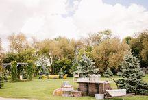 Tent /backyard weddings