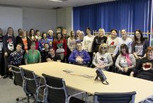 Christmas Jumper day 2015 / Christmas Jumper Day - Vision Support Services, Hilden Linens, Liddell International