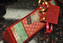 Favors and Treats / Hand-crafted Triangular shaped boxes