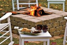 fire pit ideas / by Michele Fry