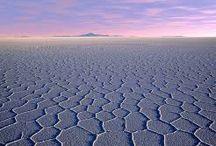 Zoutvlakte in Bolivia