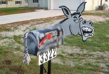 Mailboxes / by Tina Razzell