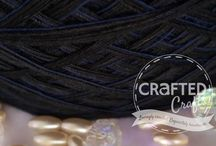 Crafted Crafts Yarn Mixes / Our cakes are pure cotton delight for crocheters and string artists.