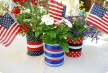 Fourth of July Ideas / by Connie Fritsch