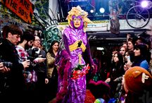 Earth Celebrations--Direct Action Fashion Show at the Museum of Reclaimed Urban Space / Earth Celebrations--Direct Action Fashion Show at the Museum of Reclaimed Urban Space, Lower East Side New York City. February 2013.