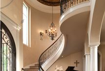 Escalera interior casa