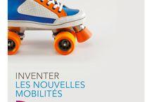 SNCF - Avertising et visuels / Je recense les outils de communication utilisés pour les campagnes de communication SNCF ainsi que les différents visuels liés à la mobilité