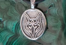 Celtic, Irish, or otherwise cool jewelry. / Some day I'd love to have a jewelry line inspired by The Morphosis.me Files!