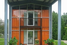Container Homes / Have a look at some of these amazing homes made from shipping containers!