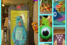 Monsters inc party / by Ana Fernandez