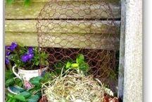 chicken wire DIY