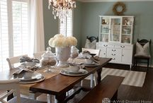 Dining Room Inspiration  / by Celebrity Style Guide