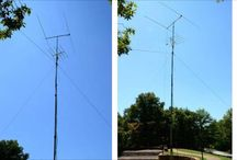 Fiberglass Antenna Masts / Check here to find pictures of Max-Gain Systems, Inc. fiberglass antenna masts in use by customers, the products you need to make your own, and instructions on how to do it yourself.