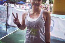 Crossfit Women's T-shirts / Designed & made in HK by Pumpedhk