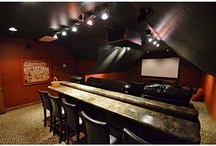 OKC Home Theater / Home theaters in homes listed by real estate agents at RE/MAX First in Oklahoma City, Oklahoma.