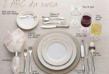 organização do churrasco e da mesa