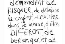 Citations/Petites phrases