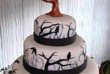 spooky wedding