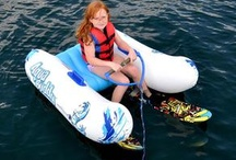 Water Skis and Wakeboards / Water skis, wakeboards, trainers and more water sports equipment from RAVE.