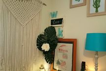 My Macrame and Fibreart Wall Hangings