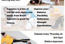 Oficina da Capoeira, Chichester / Information on the Capoeira Chichester group